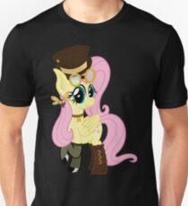 Steampunk Fluttershy (no shadow/background) Unisex T-Shirt