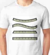 set of keyboards Unisex T-Shirt