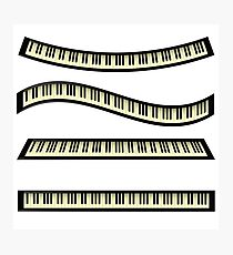 set of keyboards Photographic Print