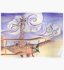 Geronimo the Giraffe Poster