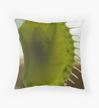 Flytrap Throw Pillow