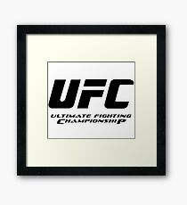 UFC Ultimate Fighting Championship Framed Print