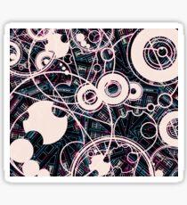B-ruder Tardis Gallifrey Print Sticker