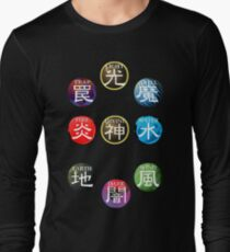 YuGiOh Attributes Long Sleeve T-Shirt