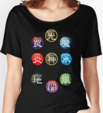 YuGiOh Attributes Women's Relaxed Fit T-Shirt