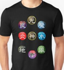 YuGiOh Attributes T-Shirt