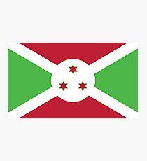 Burundi Flag Photographic Print