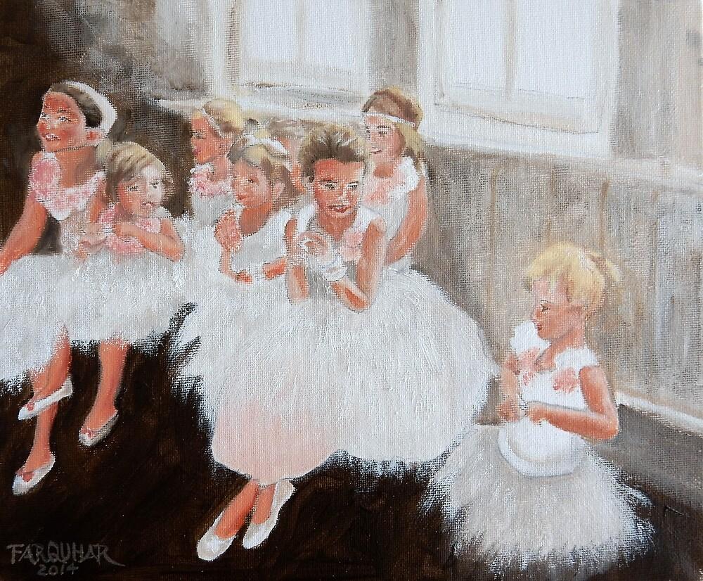 The Ballerinas by Jean Farquhar