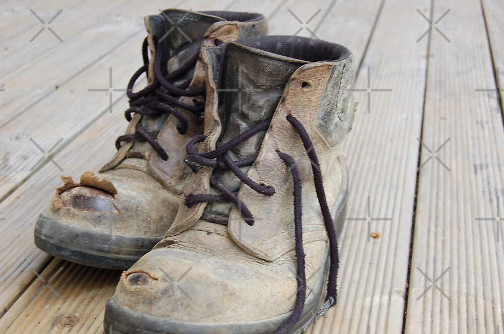 These boots were made for walking! by Barbara Caffell