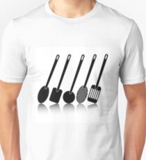 kitchen utensil silhouettes T-Shirt