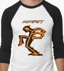 US SHREDS - Electrify Stickman (JAMMIN) Men's Baseball ¾ T-Shirt