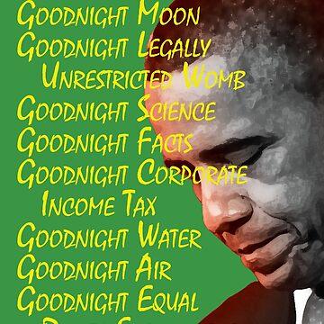 Goodnight Obama by HaemishBew