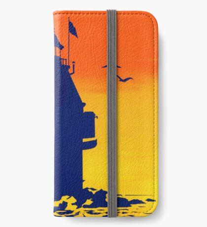 Ship John Shoal Light, Delaware Bay, NJ iPhone Wallet