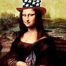 Patriotic Mona Lisa by Gravityx9
