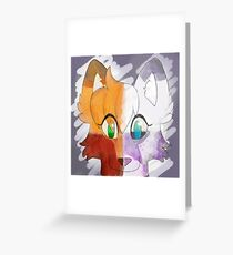 fox morphs  Greeting Card