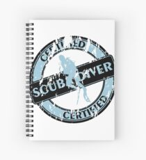 Certified Scuba Diver Spiral Notebook