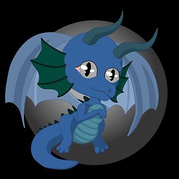Blue Dragon by Zomberflie