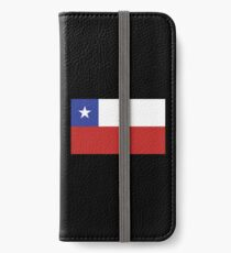 Chile Flag iPhone Wallet/Case/Skin