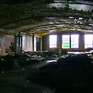 Vaulted Ceilings and Debris 2 by Steven Godfrey