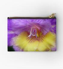 Splendid Beauty! - Gladiolus Flower - Gore NZ Studio Pouch