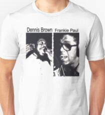 Dennis Brown And Frankie Paul  Unisex T-Shirt