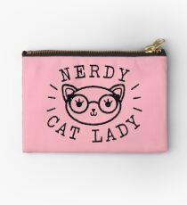 Nerdy Cat Lady Zipper Pouch