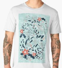 Winter flowers Men's Premium T-Shirt