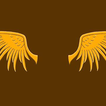 Golden Wings by Zomberflie