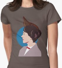 Yondu Poppins Crossover Womens Fitted T-Shirt