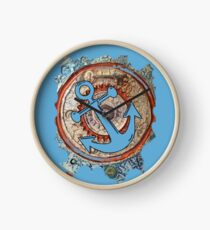 ANCHORS AWAY - BOAT ANCHOR Clock