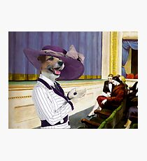 Parson Russell Terrier Art Canvas Print - He gave me his heart Photographic Print