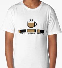 Coffee stats Long T-Shirt