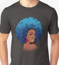 Pop-Art RuPaul: Blue Unisex T-Shirt