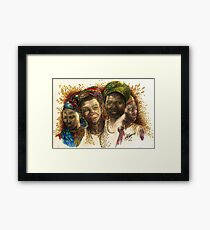 Africa's Untapped Natural Resources  Framed Print