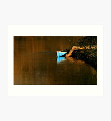 Credit River Canoe Art Print