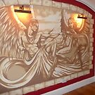 renaissance style wall mural by imajica