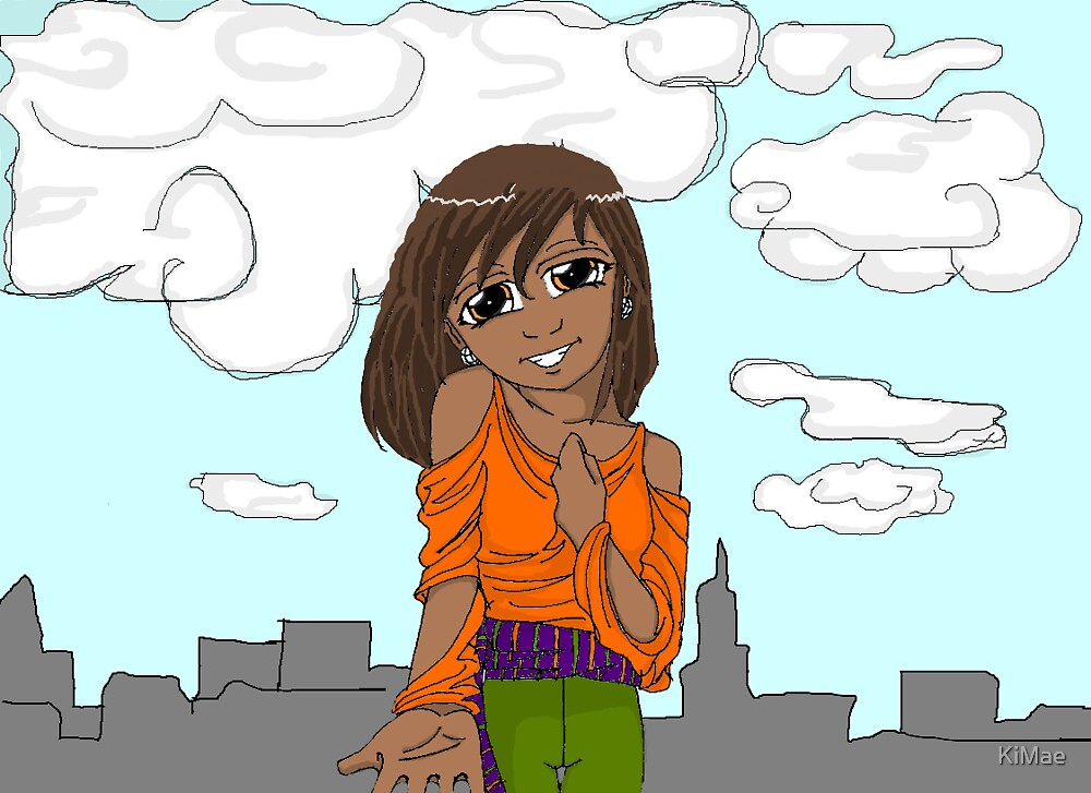 Original cover to my Graphic Novel by KiMae