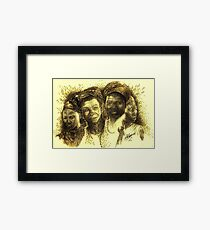 Africa's Untapped Natural Resources - Sepia Framed Print