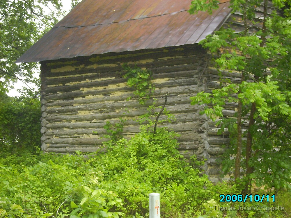 Tobacco Curing Barn  by Thomas Josiah Chappelle
