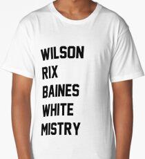Surname Print Long T-Shirt