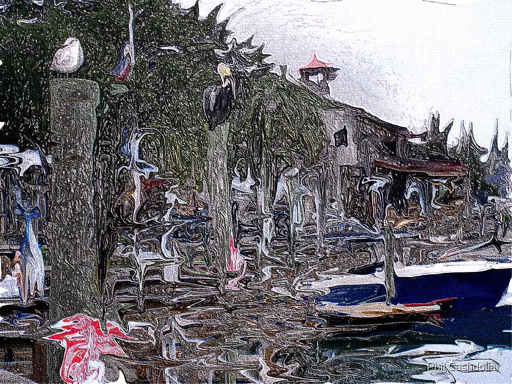 The Fish Dock by Phil Cashdollar