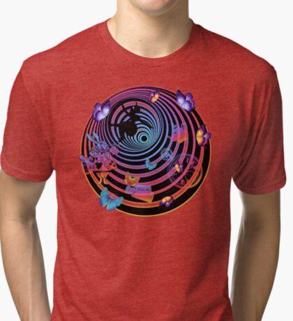 Por la madriguera del conejo Camiseta de tejido mixto