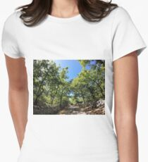 Landscape Women's Fitted T-Shirt