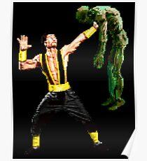 Shang Tsung Lift Poster