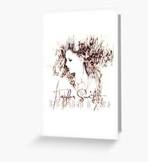 Taylor Swift Fearless Edit Greeting Card