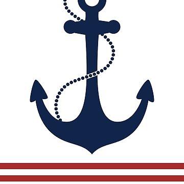 Nautical Anchor by LizaPhoenix