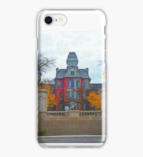 Syracuse University Hall of Languages iPhone Case/Skin