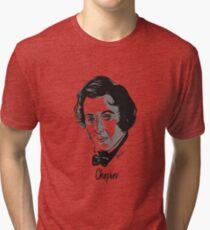 Frederic Chopin composer Tri-blend T-Shirt