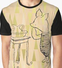 Piglet on aztec Graphic T-Shirt