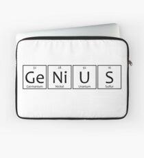 Genius Chemical Elements Symbols Laptop Sleeve